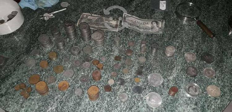 Gran colección de mas 300 monedas del bisabuelo
