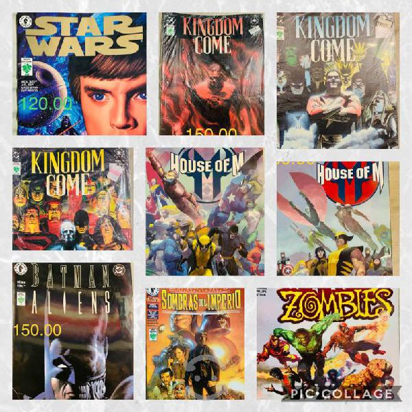 Kingdom come star wars house of m marvel zombies