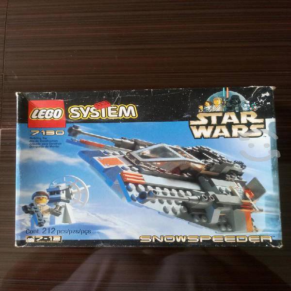 Lego 7130 star wars snowspeeder vintage nuevo