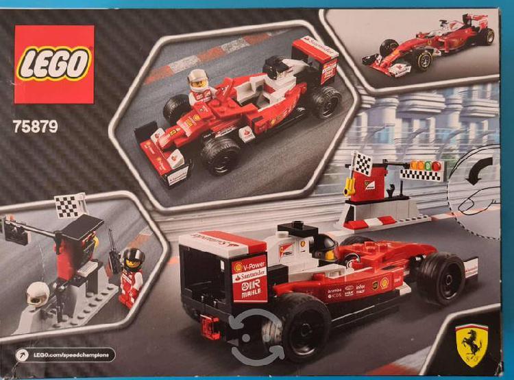 Lego 75879 scuderia ferrari sf16-h speed champions