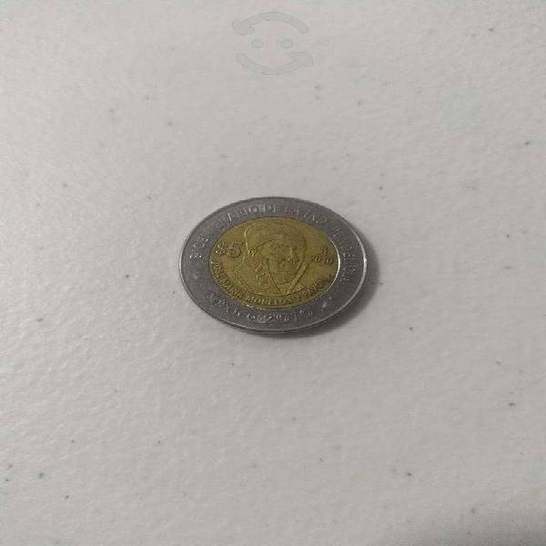Moneda del bicentenario josé maría morelos y pavón