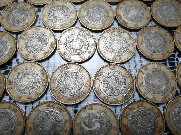 Monedas conmemorativas 10 pesos