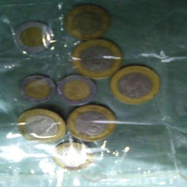 Monedas de 20 pesos