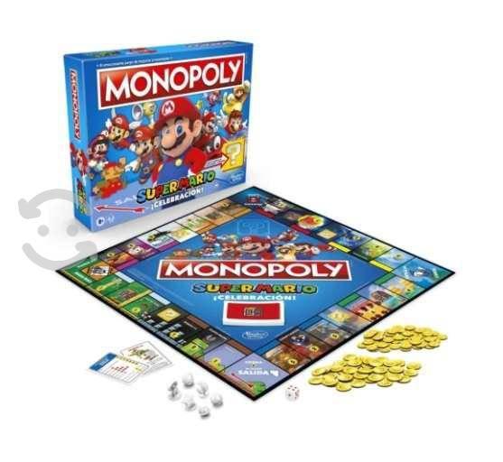 Monopoly super mario celebration nuevo sellado