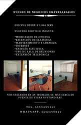 Oficina física desde $ 3,800 mxn