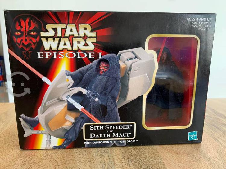 Star wars sith speeder and darth maul versiónjapon