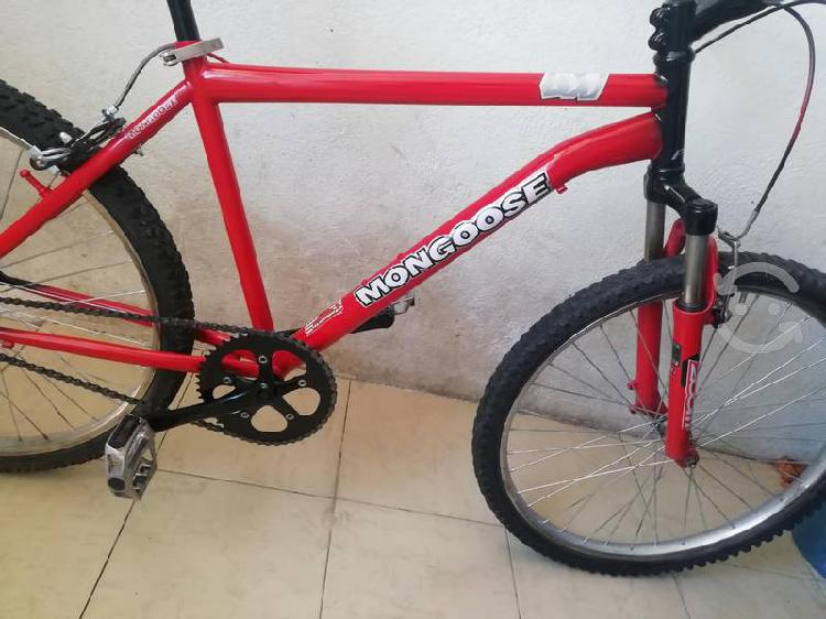 Bicicleta mongoose suspensión rodado 26