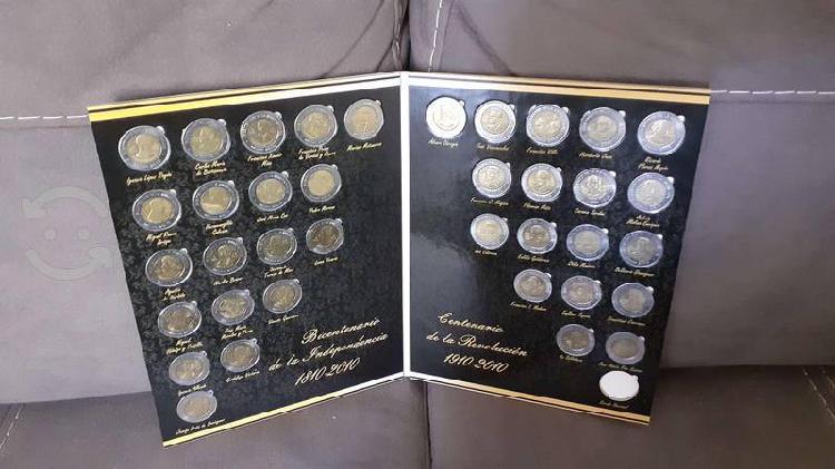 Lbum colección completa monedas de 5 bicentenario