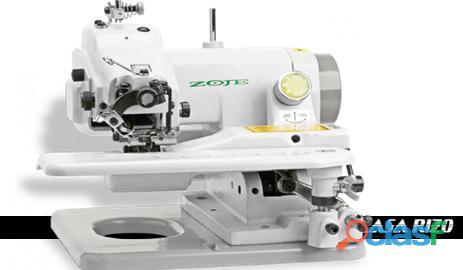 Máquina de dobladillo invisible semi industrial zoje zj 500