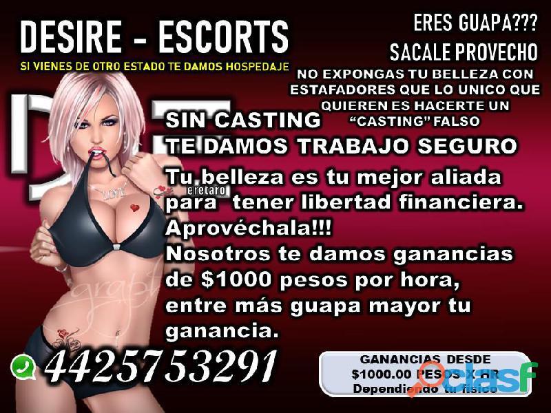 SELECCIONAMOS CHICAS ATRACTIVAS QUE QUIERAN GANAR DINERO 4425753291 EN QUERÉTARO