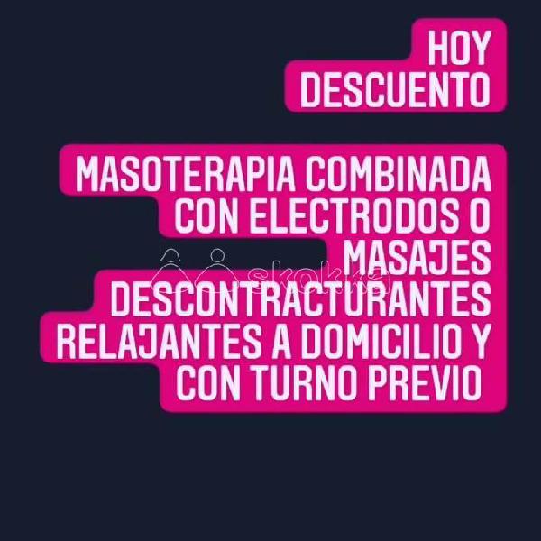 HOY DESCUENTO A DOMICILIO @emimasoterapia