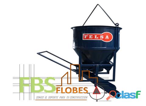 Bacha para concreto en venta flobesa