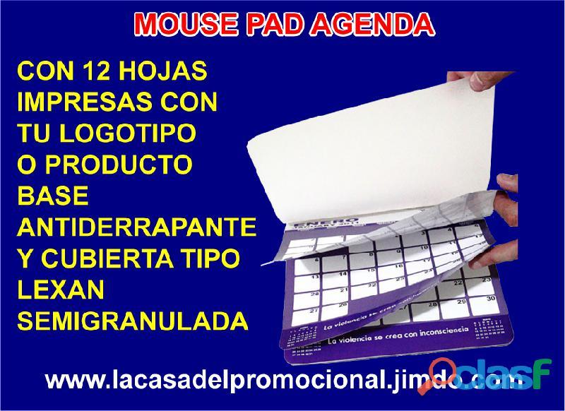Agendas 2021 en forma de mouse pad