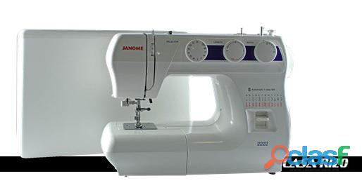 Máquina de coser Janome 2222 *Envío gratis a todo México
