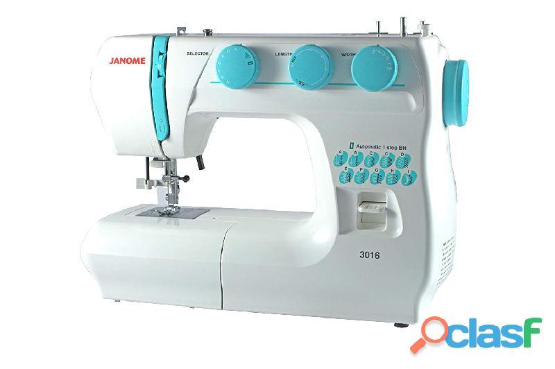 Maquina de coser janome 3016 nuevas