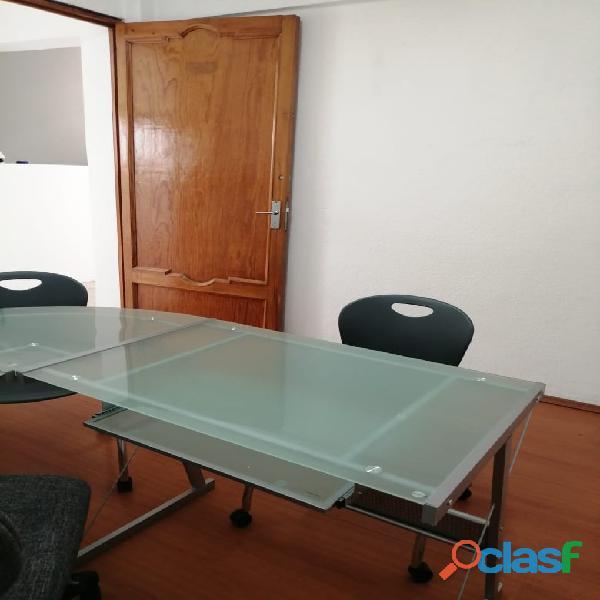 Oficina con mobiliario básico desde $3,800 mxn
