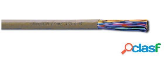 Superior essex cable telefónico de 32 pares x26 awg, gris - precio por metro