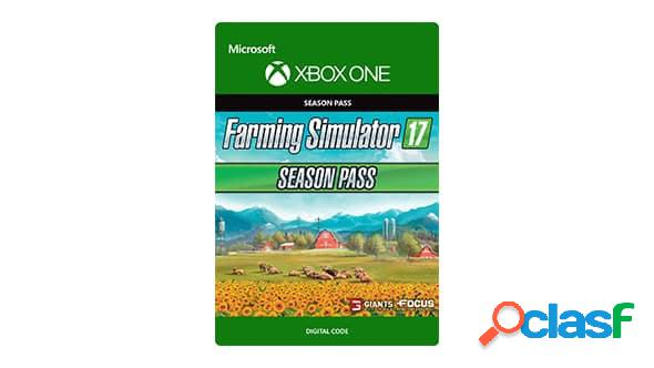 Farming simulator 2017 season pass, xbox one - producto digital descargable