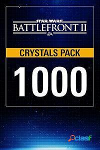 Star wars battlefront ii, 1000 crystals, xbox one - producto digital descargable
