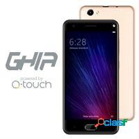 Smartphone ghia qs701 5'', 1280x720 pixeles, 3g, android 7.0, oro