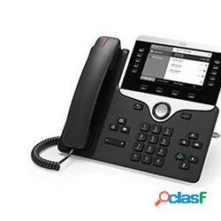 Cisco teléfono ip con pantalla 5'' 8811, altavoz, negro