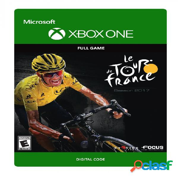 Tour de france 2017, xbox one - producto digital descargable