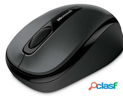 Mouse microsoft mini bluetrack 3500, inalámbrico, usb, gris