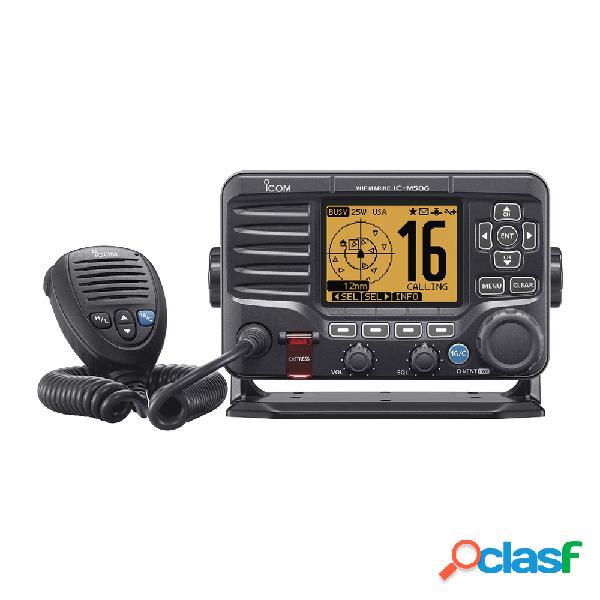 Icom radio móvil marino de 2 vías ic-m506/01, negro