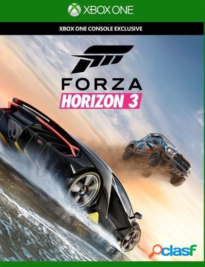 Forza horizon 3, xbox one