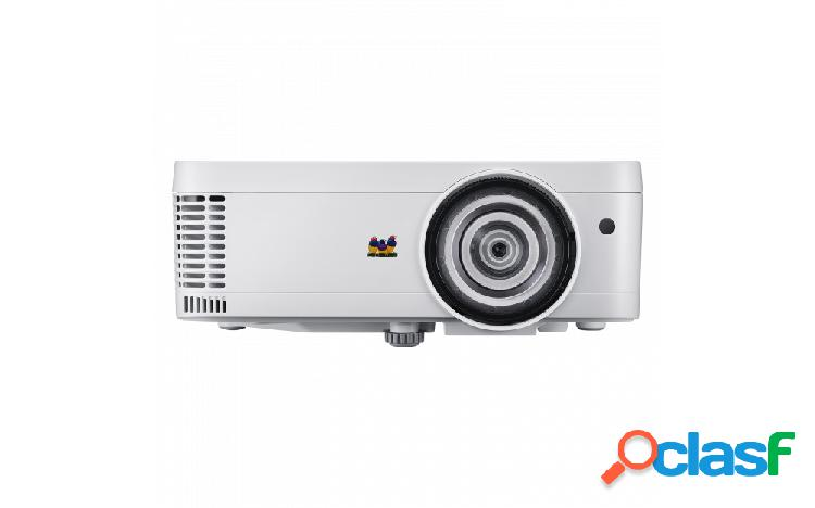 Proyector viewsonic ps501x dlp, xga 1024 x 768, 3400 lúmenes, con bocinas, blanco
