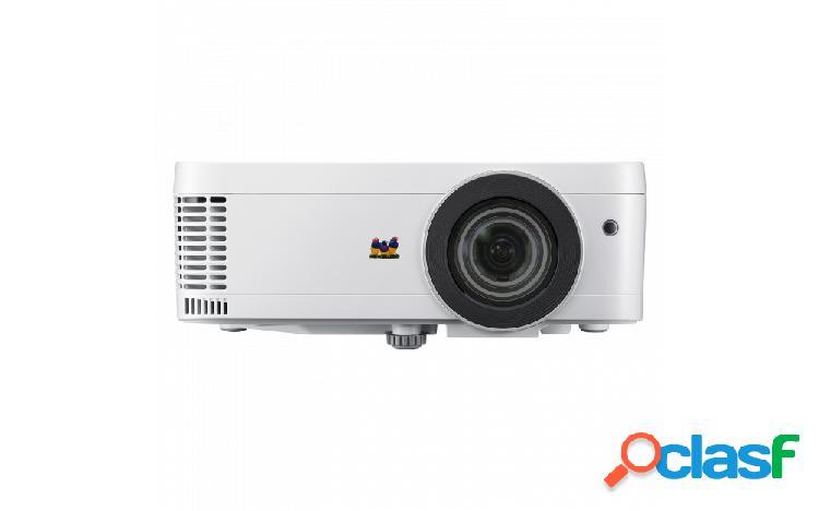Proyector viewsonic px706hd dlp, 1080p 1920 x 1080, 3000 lúmenes, 3d, con bocinas, blanco