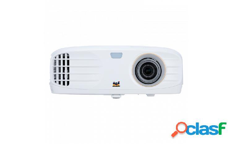 Proyector viewsonic px727-4k dlp, 2160p 3840 x 2160, 2200 lúmenes, con bocinas, blanco