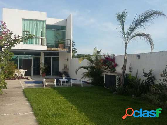 Hermosa casa minimalista en ahuatepec