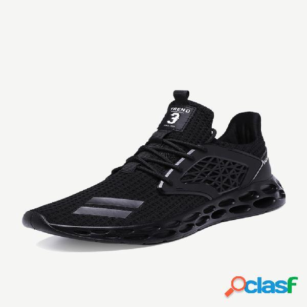 Zapatillas de deporte transpirables de gran tamaño para hombre