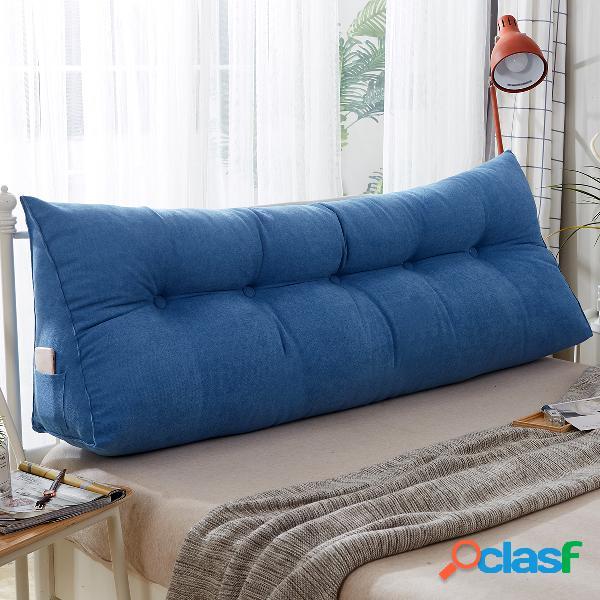 almohada triangular de cuña multicolor cojín almohada de cabecera respaldo de cama almohada de apoyo almohada de lectura almohada lumbar de oficina soft
