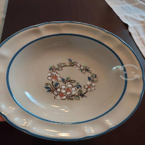 6 platos soperas de ceramica nuevos