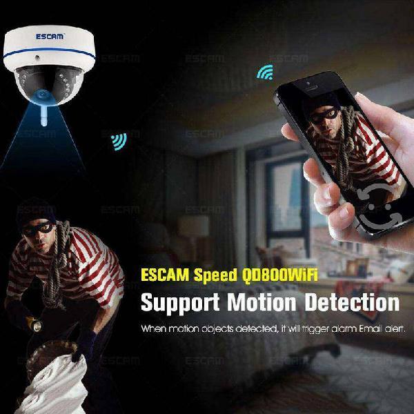 Camara para vigilancia wifi impermeable