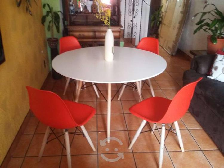 Comedor minimalista nuevo 120 cm diametro