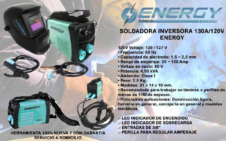 Energy - soldadora para electrodo revestido invert