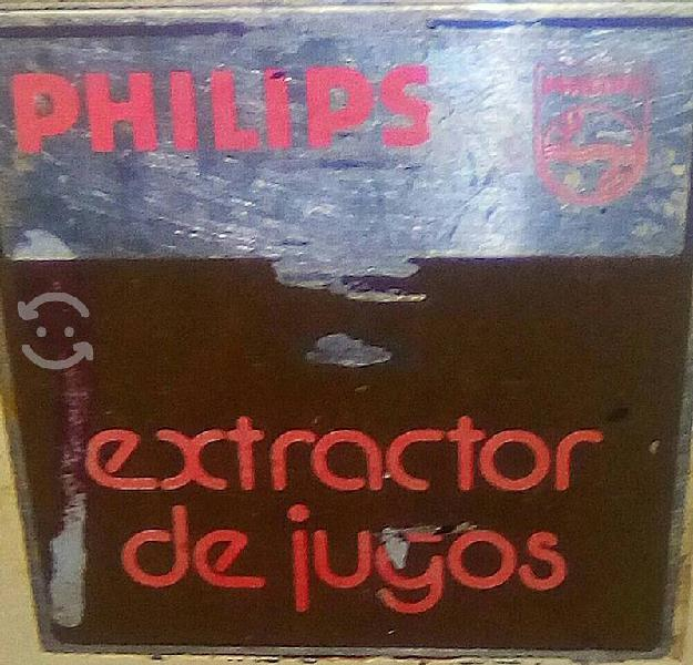 Extractor de jugos uso rudo industrial philips