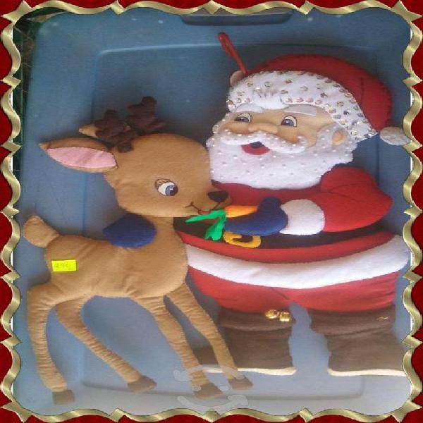 Figuras navideñas de fieltro