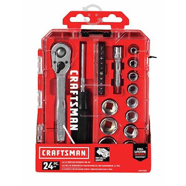 Juego de herramientas mecánicas craftsman