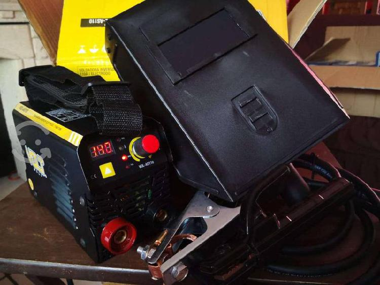 Mini soldadora inversora volt as 110 hasta 140 amp