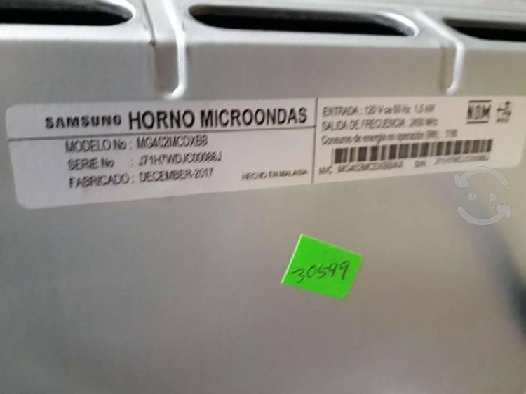 Microondas samsung mg402mcdxbb