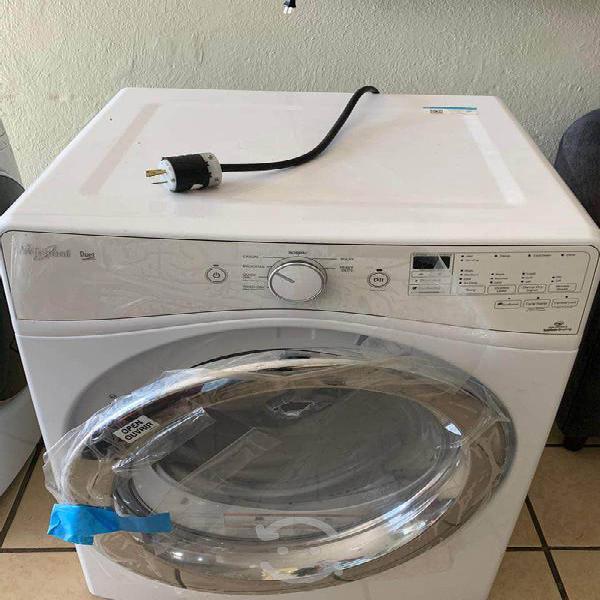 Secadora eléctrica 17 kgs whirlpool blanco 220 v