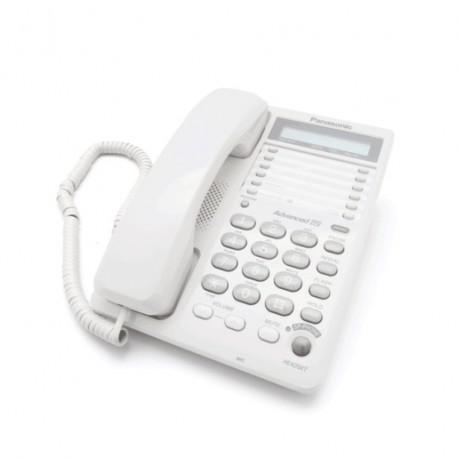 Telefono alambrico panasonic kxts108mew