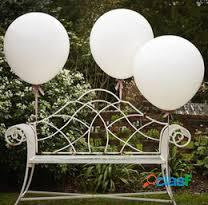 GLOBOS GIGANTES DE LATEX PARA DECORAR BODAS