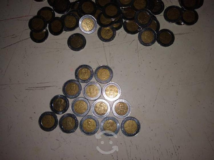 Monedas de revolución y bicentenario