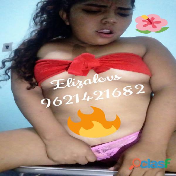 Mi nombre es Eliza te ofrezco mis videos fotos y también hago videollamadas súper hot desde 60 pesit