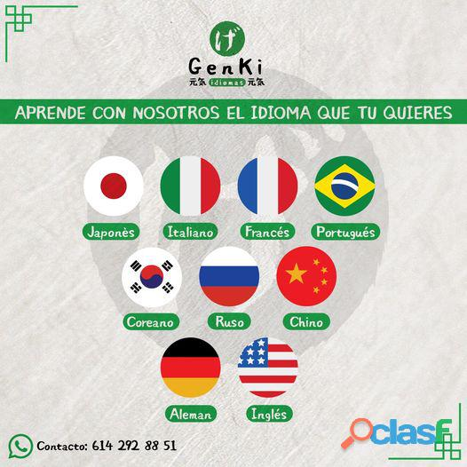 Traducciónes entre ingles, frances, italiano, alemán, portugués y español